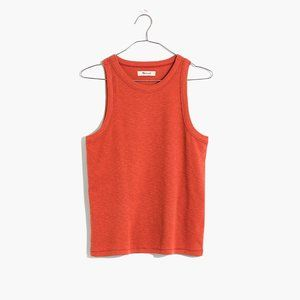 [NWT] Madewell Westville Tank in Red